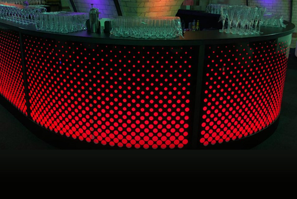 LED Black Dynamo Bar